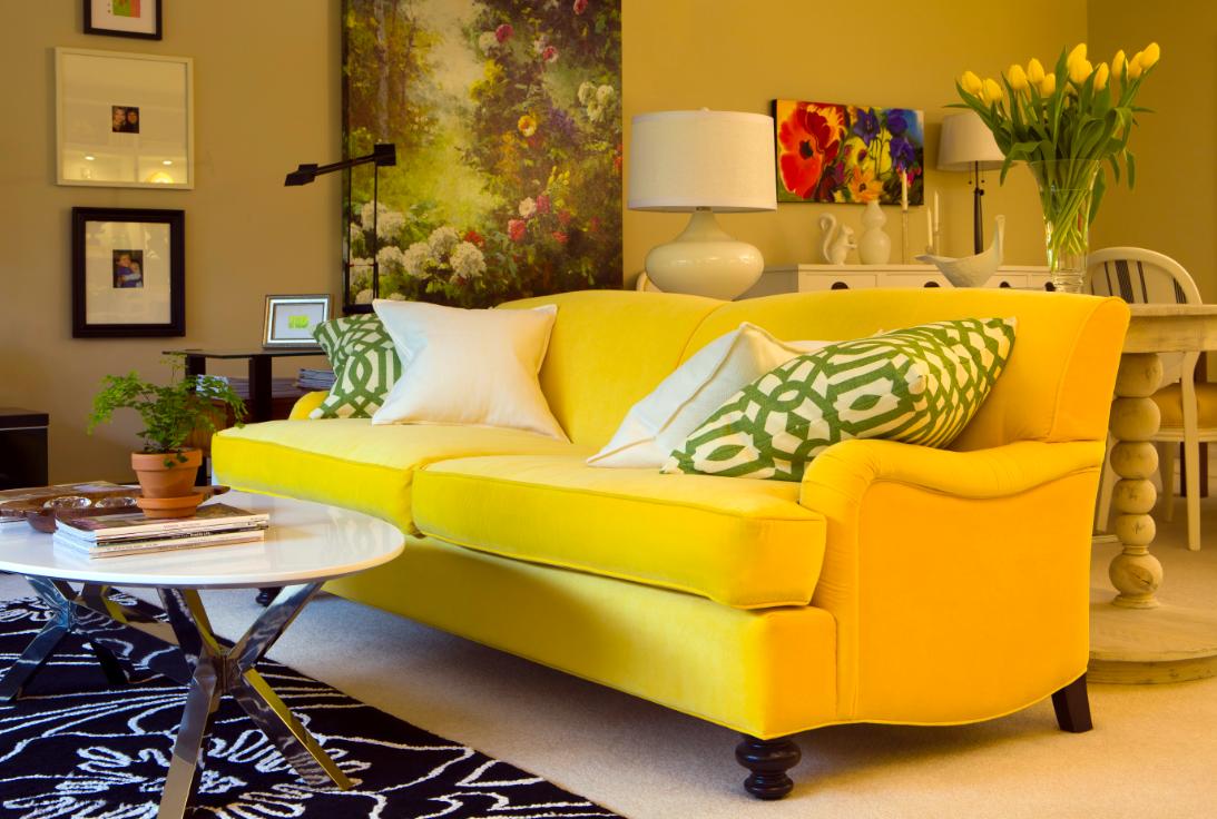 Green And Black Living Room 22 Hd Wallpaper - Living Room PNG HD
