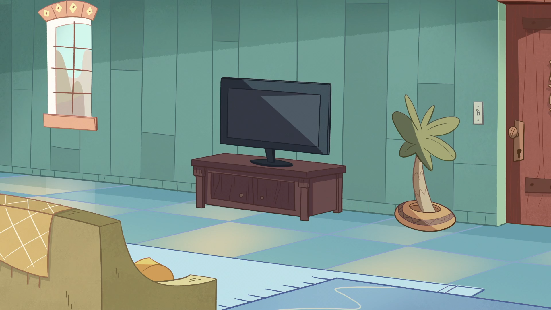 The Banagic Incident Background   Diaz House Living Room.png   Living Room  PNG HD