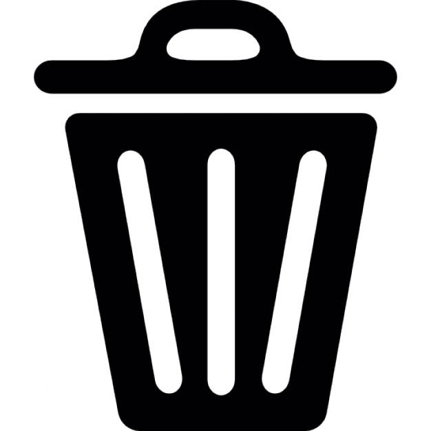 Fechado lata de lixo Ícone grátis - Lixo PNG