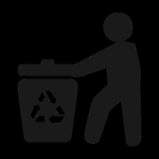 man.svg reciclagem de lixo png - Lixo PNG