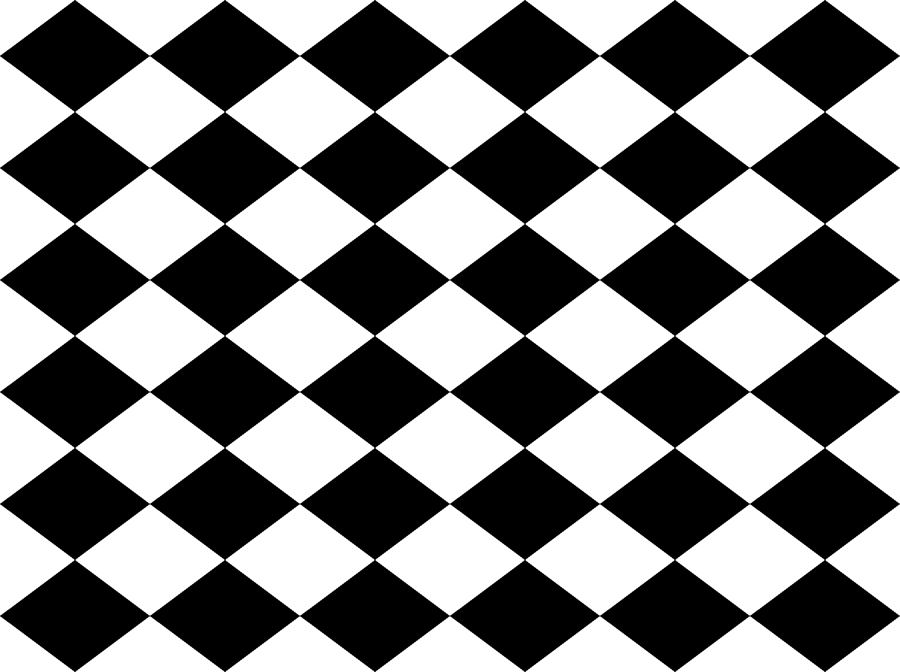 Small Harlequin Check in Black and White giftwrap - charmcitycurios -  Spoonflower - Lkw PNG Black And White
