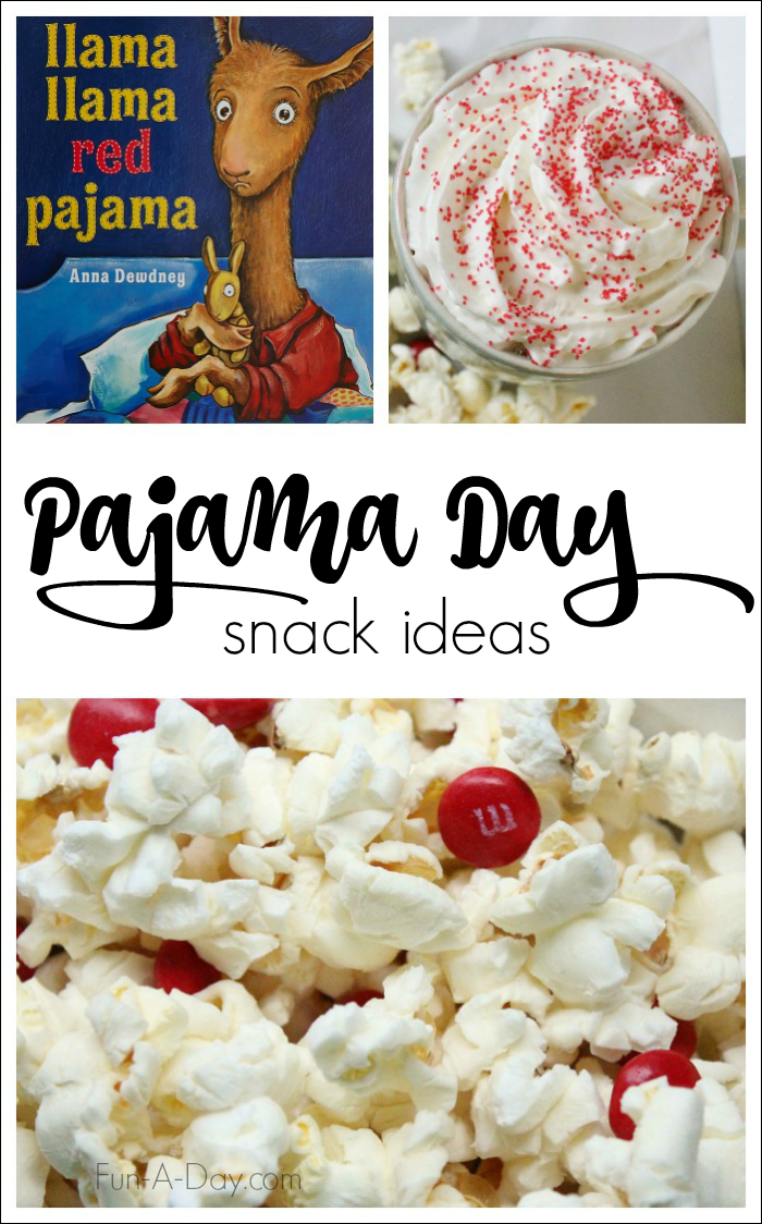 Llama Llama Red Pajama Day Snacks - Llama Llama Red Pajama PNG
