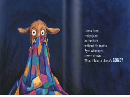 SMART Exchange - USA - Llama llama Red Pajama Interactive Story Time (2011  read for the record) - Llama Llama Red Pajama PNG