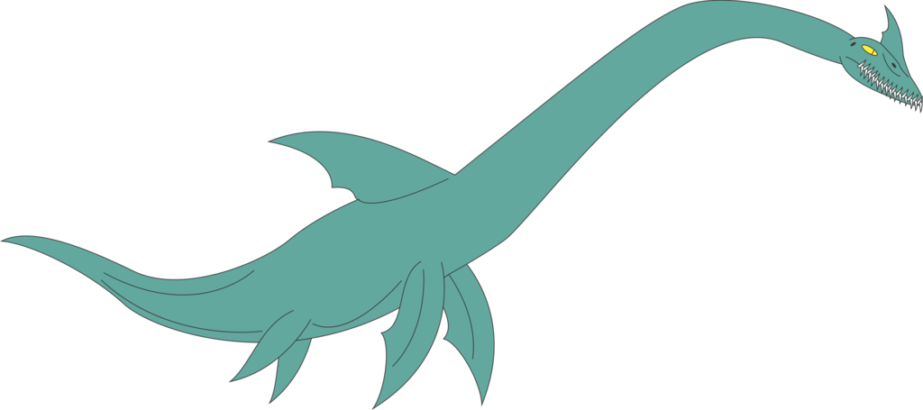 Loch Ness Monster by Daizua123 PlusPng.com  - Loch Ness Monster PNG