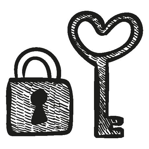 Lock Keys Facts PNG - 10876