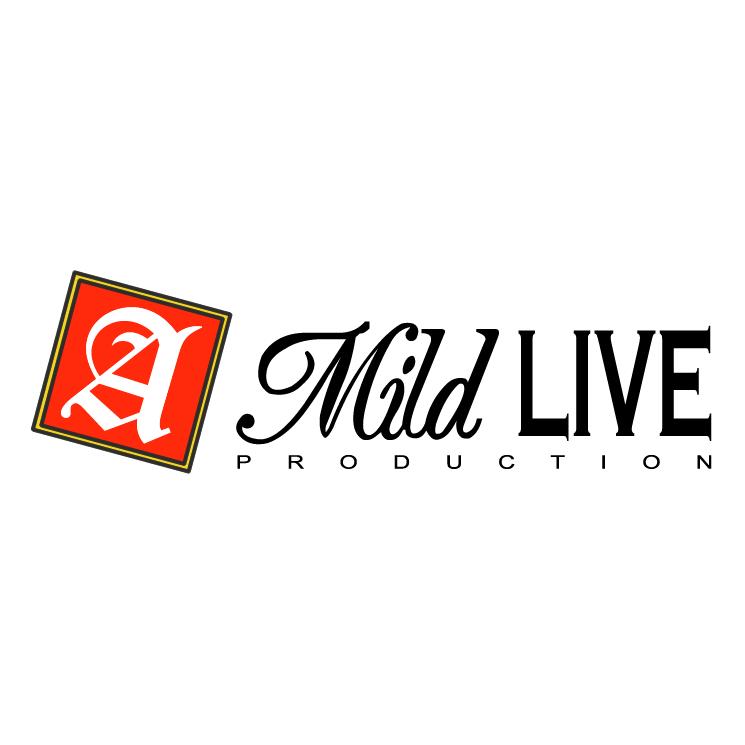 A Mild Live Production Free Vector - Logo A Mild Live Production PNG