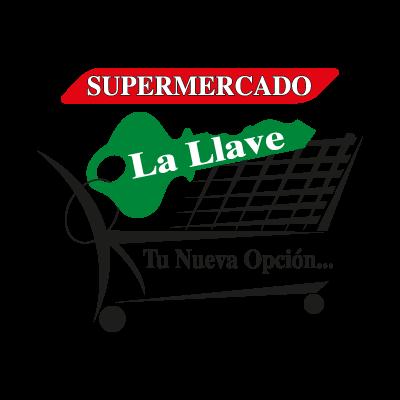 Supermercado La Llave Logo - A Mild Live Production Vector PNG - Logo A Mild Live Production PNG
