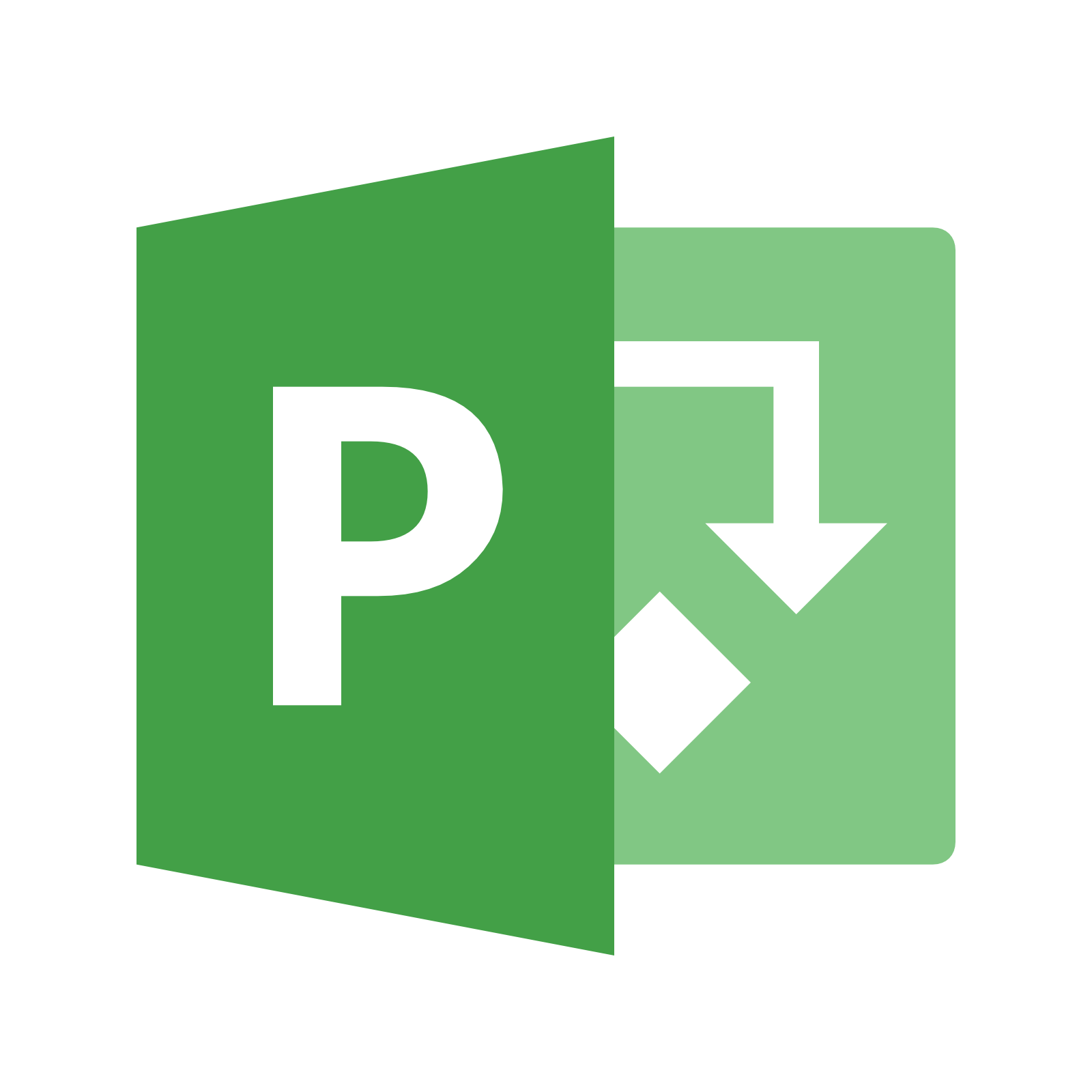 Microsoft Project icon - Logo A Project PNG