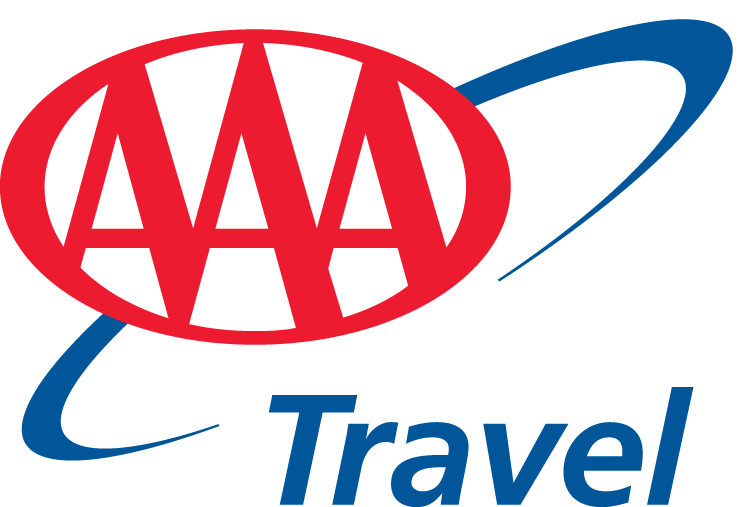We are located at: - Logo Aaa Travel PNG