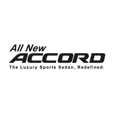 All New Accord vector logo . - Accor Logo Vector PNG - Logo Accor Air France PNG