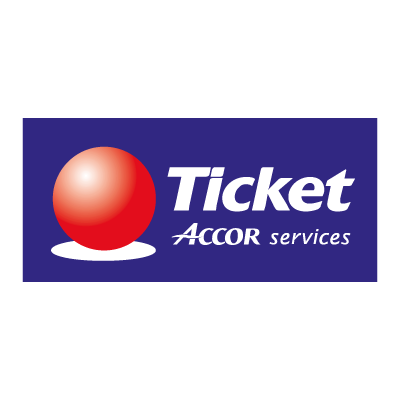 Ticket Accor Service vector logo - Accor Logo Vector PNG - Logo Accor Air France PNG
