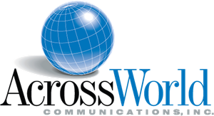 AcrossWorld Communications Logo Vector - Logo Acrossworld PNG