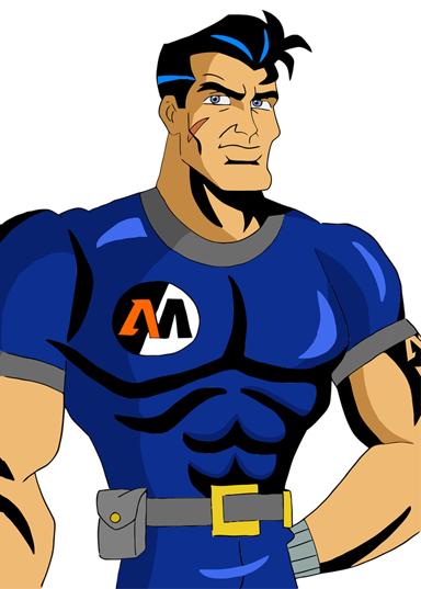 Action Man by evilash3 PlusPng.com  - Logo Action Man PNG