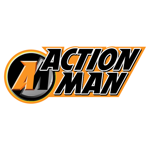 Action man free vector - Logo Action Man PNG