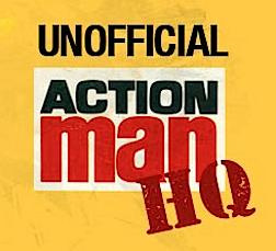 Unofficial Action Man HQ (Logo: Robert Wisdom) - Logo Action Man PNG