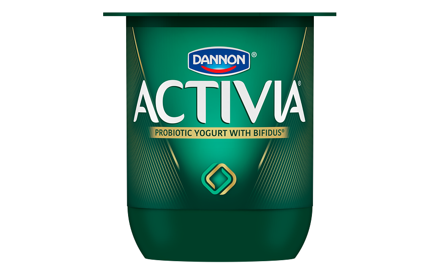 The Core Of The Redesign Is A New Logo, Made Up Of Two Interlocking Shapes,  To Represent Efficacy And Inner-balance. - Logo Activia PNG