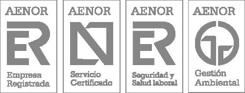 Certificate - Logo Aenor Black PNG