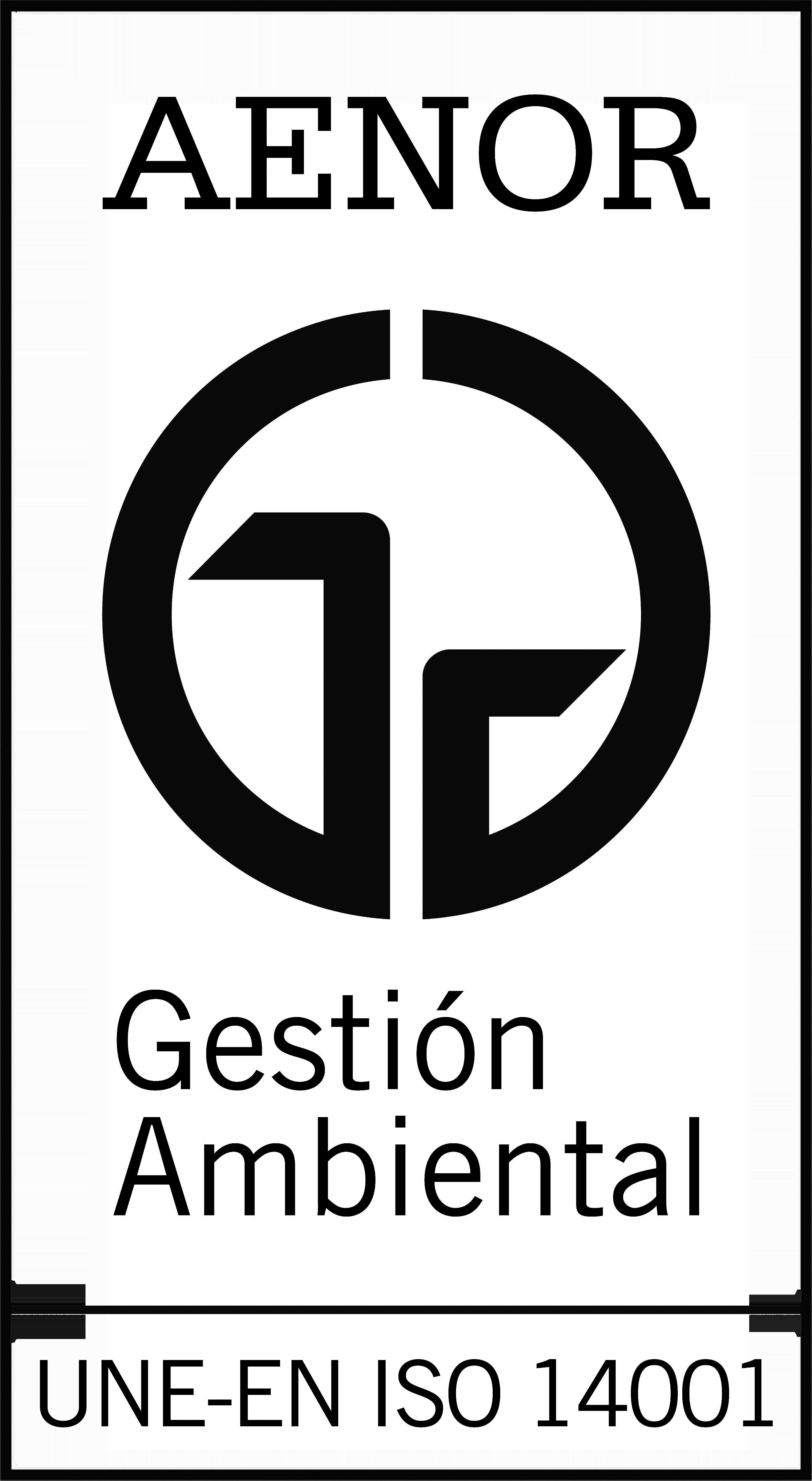 Certificates - Logo Aenor Black PNG