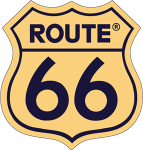 Route 66 Logo - Logo Aerosmith Route PNG