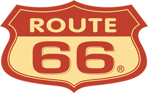 Route 66 Logo Vector - Logo Aerosmith Route PNG