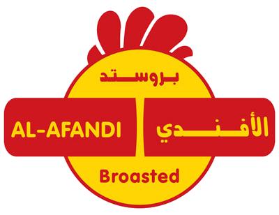 Afandi logo Food Mockup logo