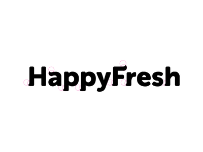 Process from HappyFresh logo. And congrats guys for the launching. You can  read the article about them on TechCrunch - Logo Afandi PNG