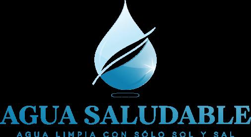 Agua Saludable.Agua limpia con solo sol y sal - Logo Agua Sol PNG
