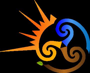 Marta Cuesta - Logo Agua Sol PNG
