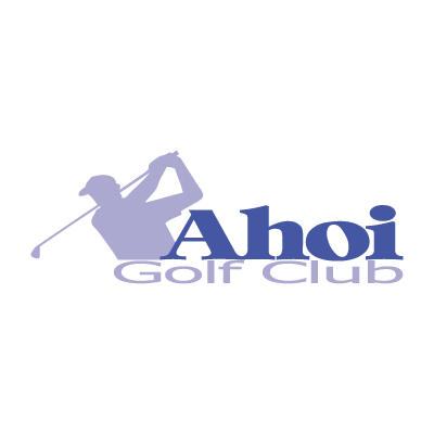 Ahoi Golf Club vector logo . - Logo Ahoi Golf Club PNG
