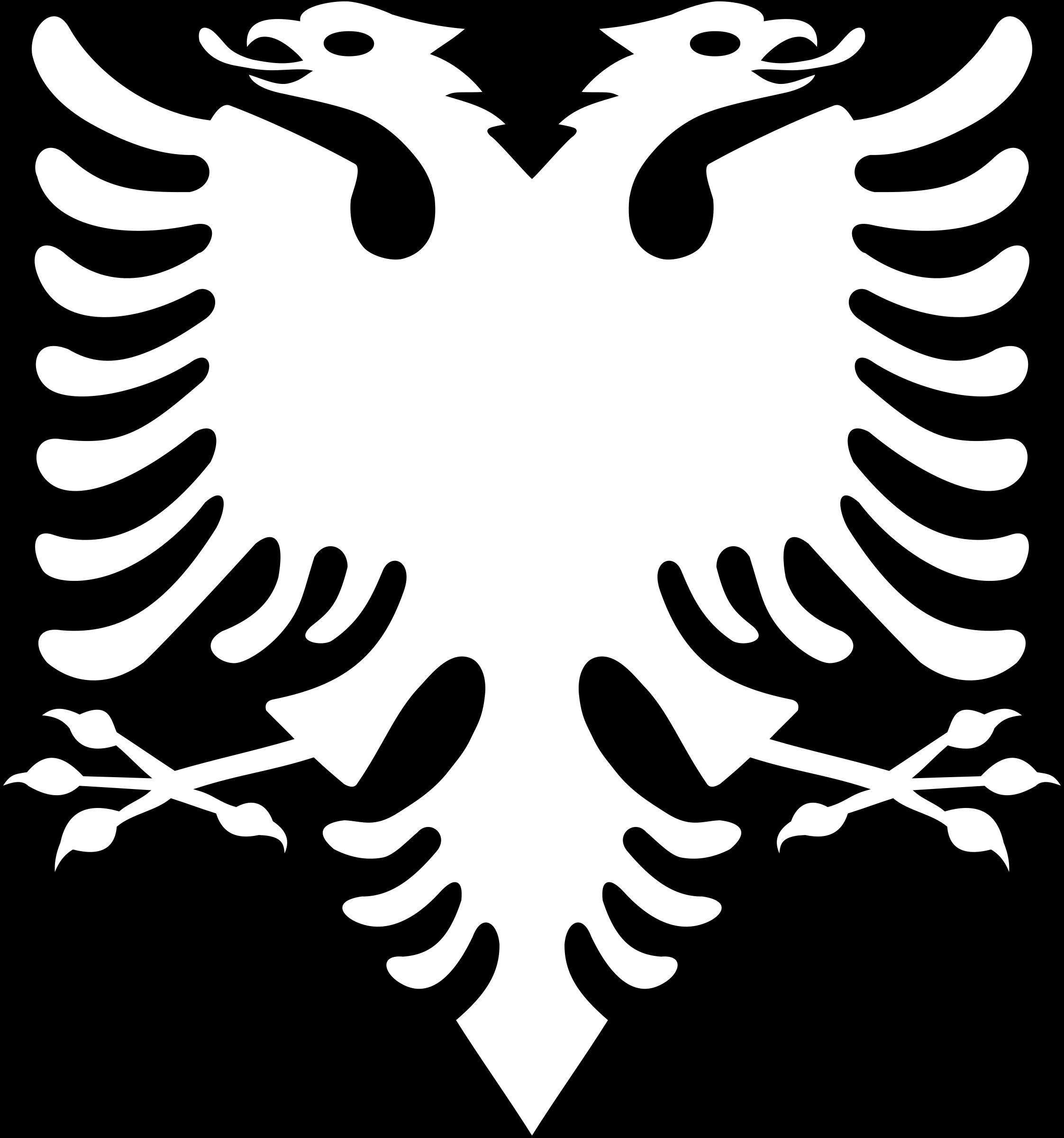 Logo Albanain Eagle PNG - 100090
