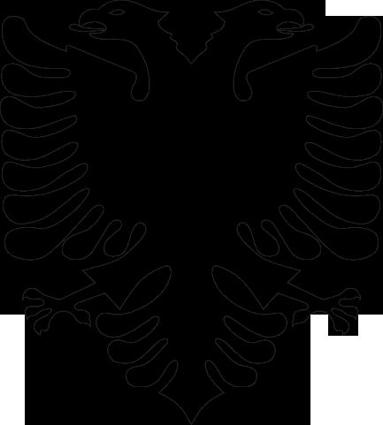 Logo Albanain Eagle PNG - 100087