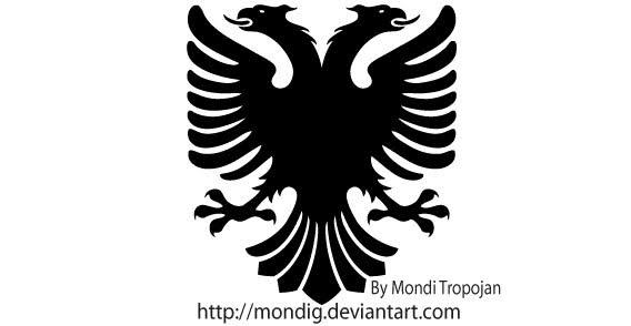 Logo Albanain Eagle PNG - 100092