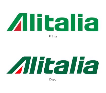 alitalia nuovo logo 3 by Davi