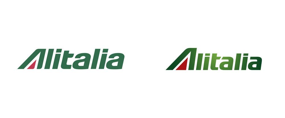 New Logo and Livery for Alitalia by Landor - Logo Alitalia PNG