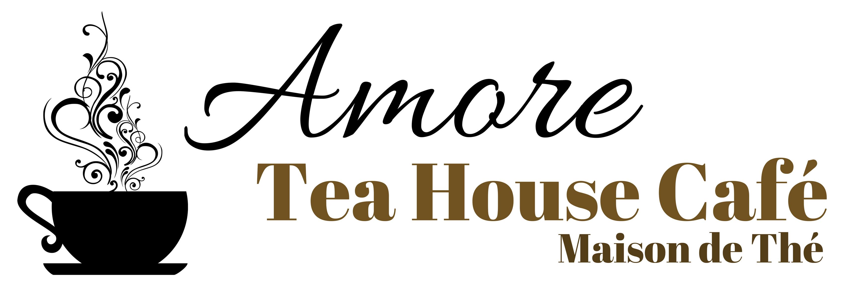 Amore Tea House u2013 maison de thé AMORE - Logo Amore Cafe PNG