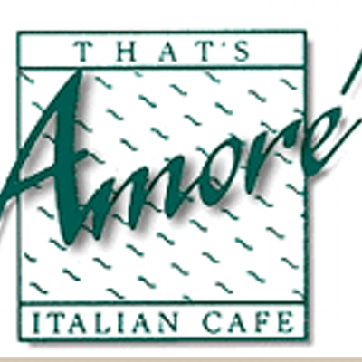 Thatu0027s Amore Cafe - Logo Amore Cafe PNG