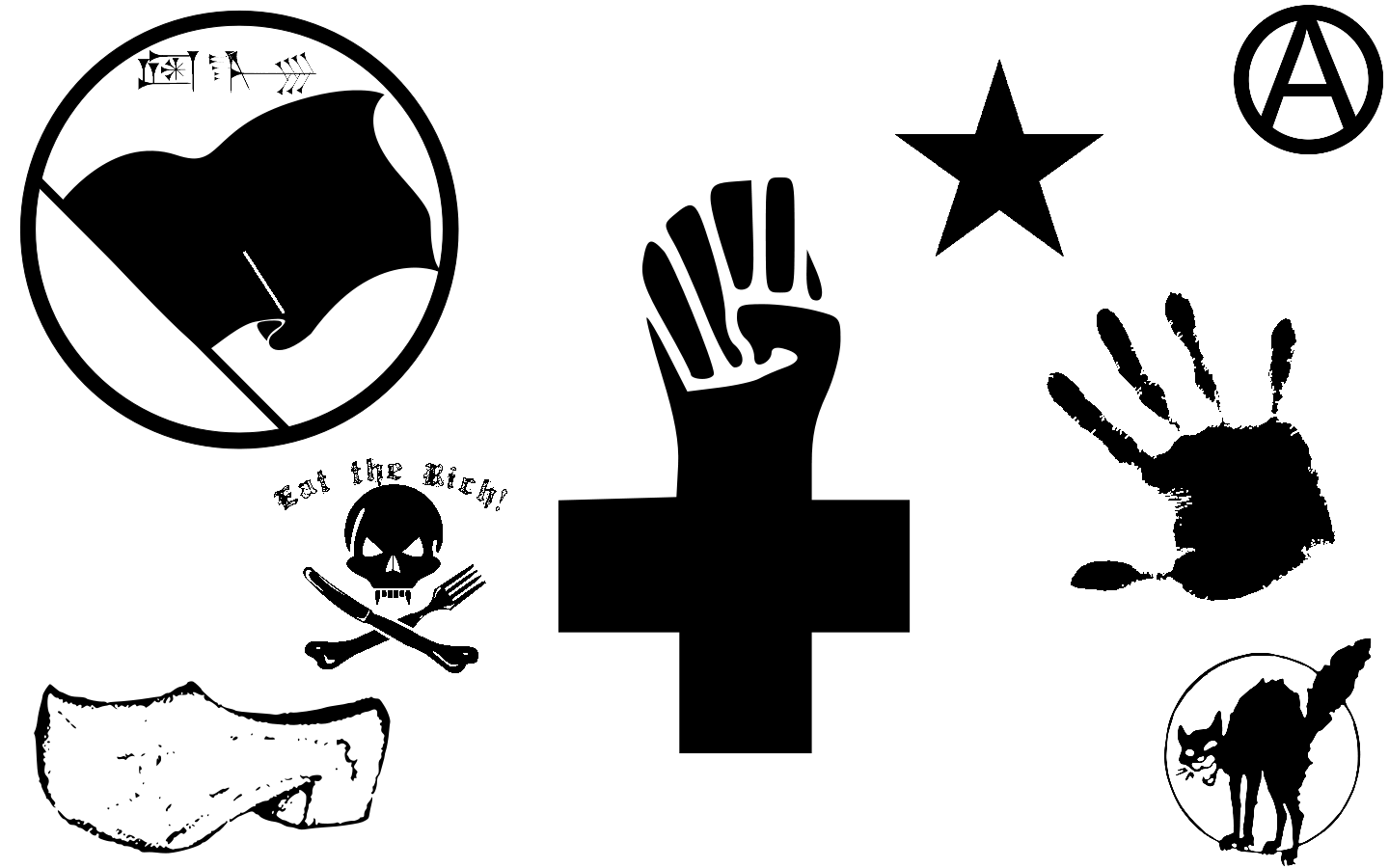 Logo Anarchy Us PNG - 33259