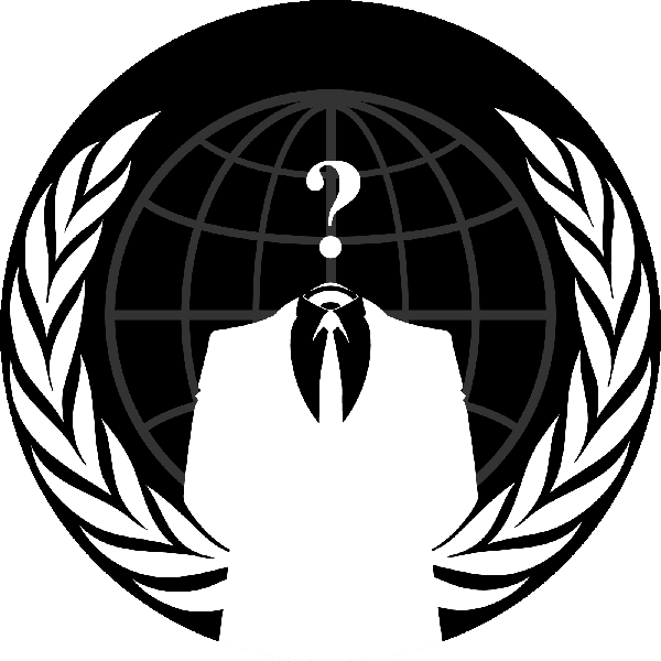 Logo Anonymous PNG - 101473