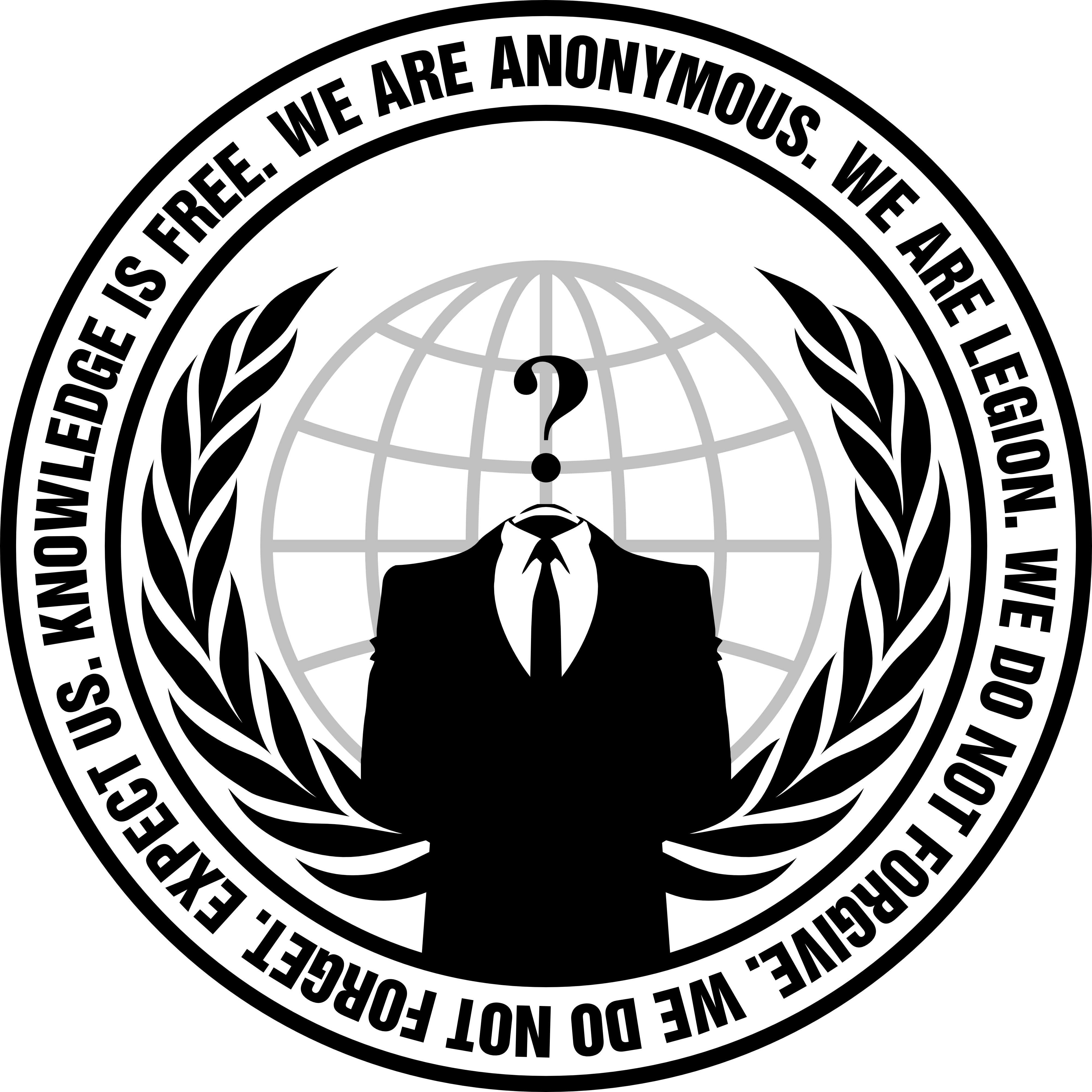 Logo Anonymous PNG - 101463