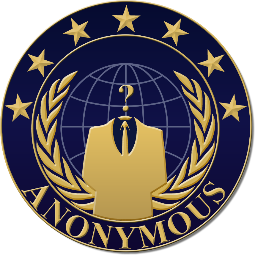 Logo Anonymous PNG - 101464