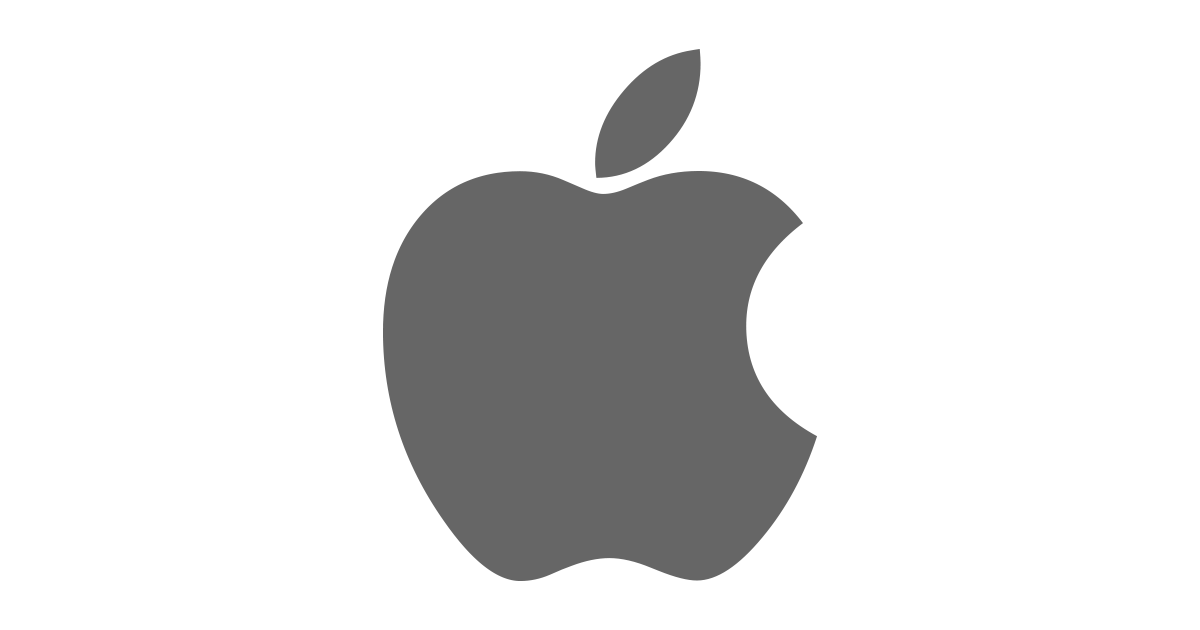 Logo Apple Ios PNG - 110858