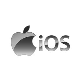 iOS Apple logo vector downloa
