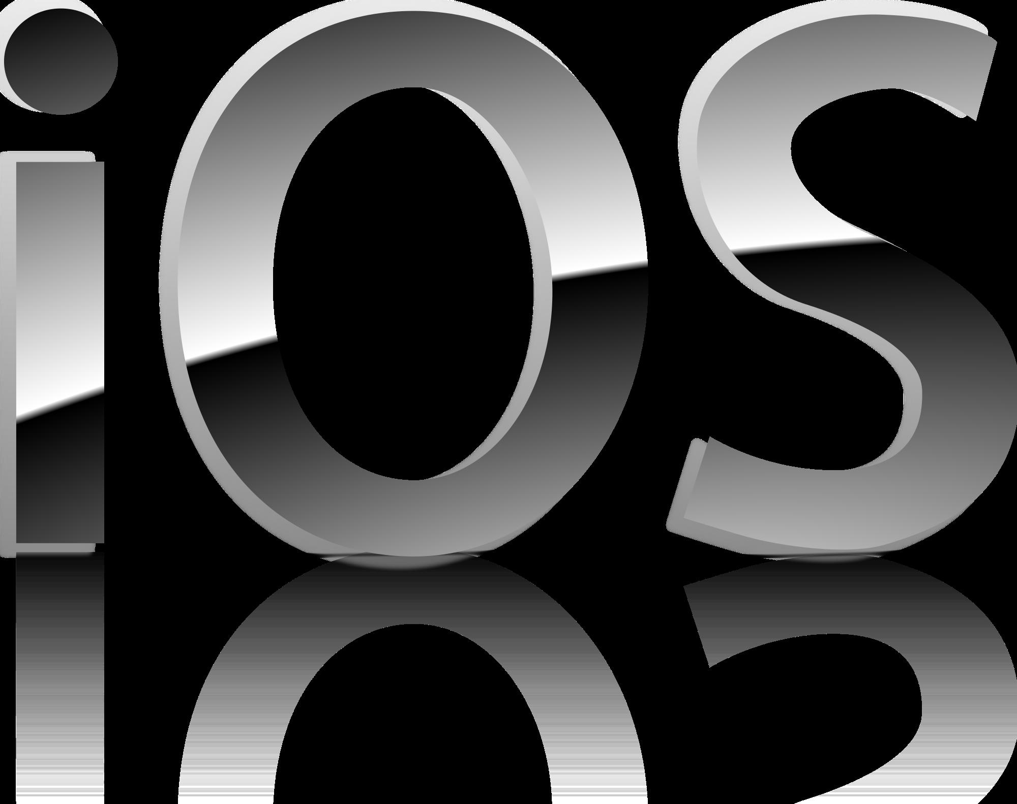 Open PlusPng.com  - Logo Apple Ios PNG