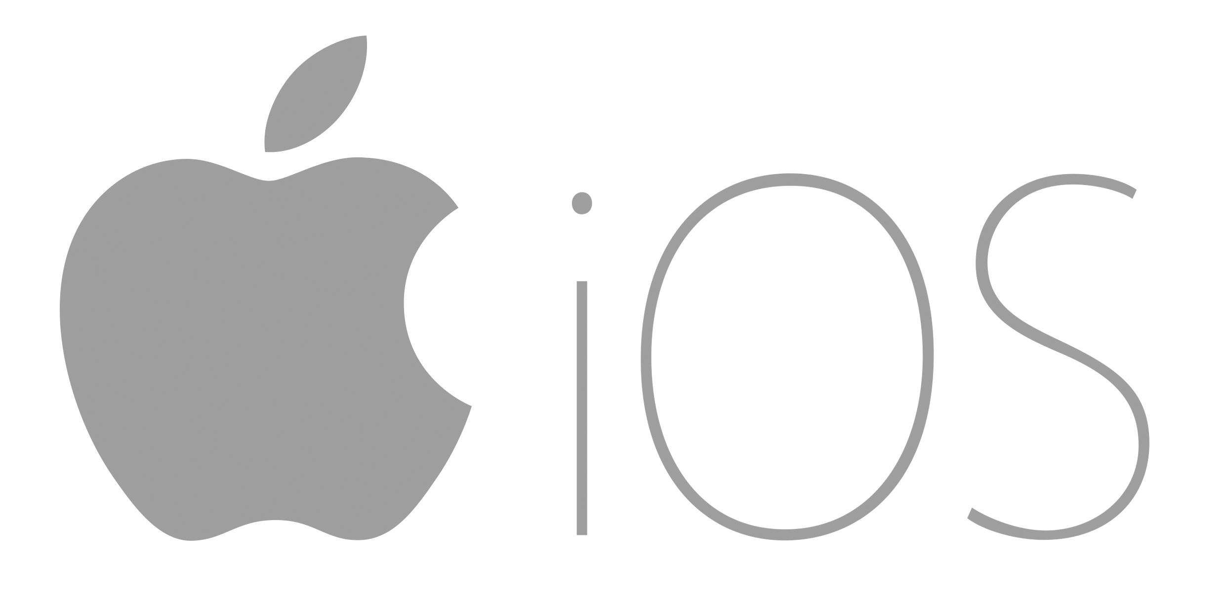 Logo Apple Ios PNG - 110855