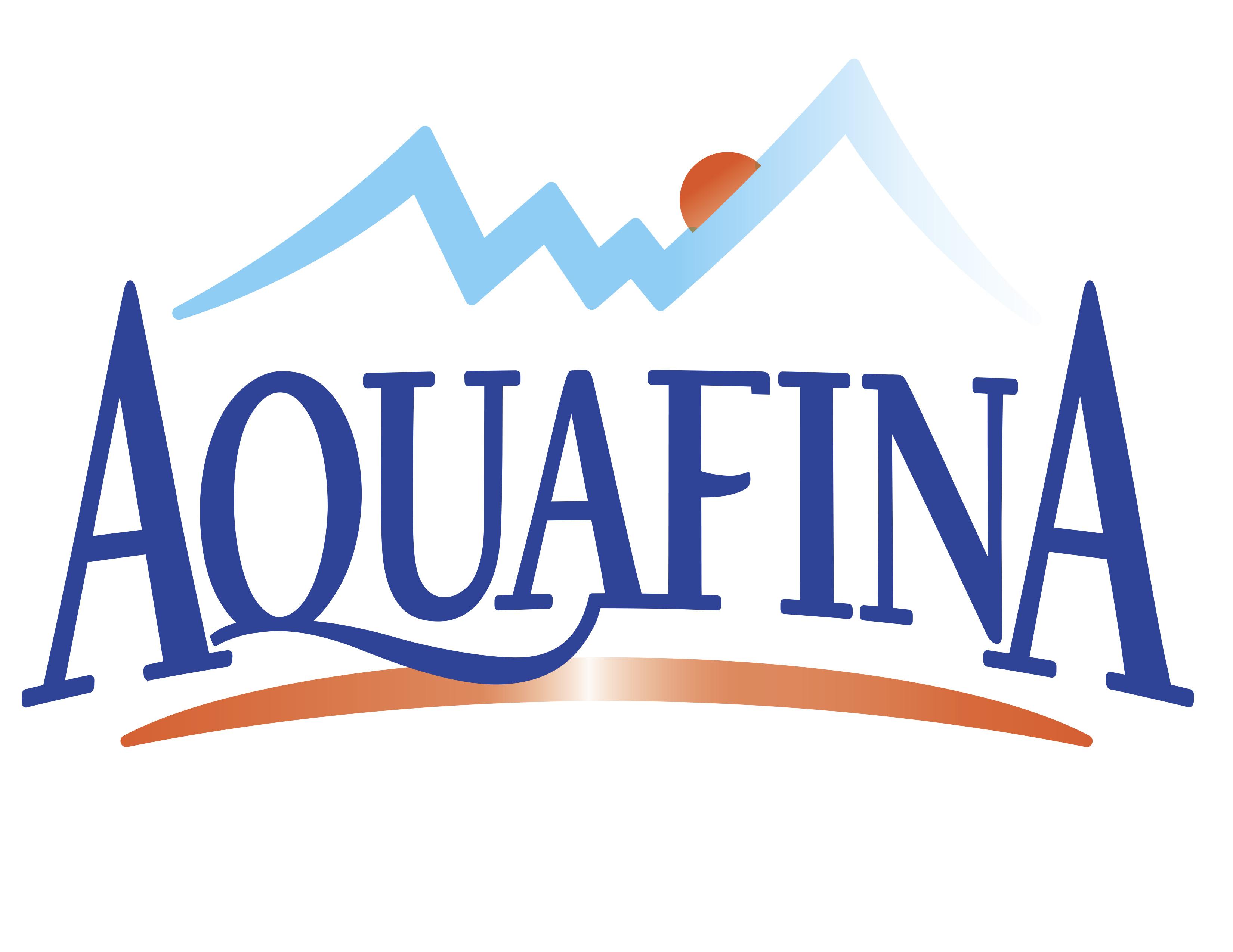 logo_Aquafina_2016.jpg - Logo Aquafina PNG