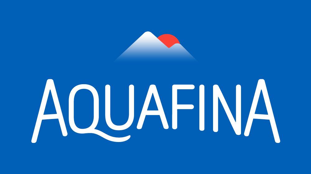New Logo and Packaging for Aquafina done In-house - Logo Aquafina PNG