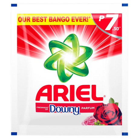Ariel Powder Detergent with Freshness of Downy Parfum - Logo Ariel PNG