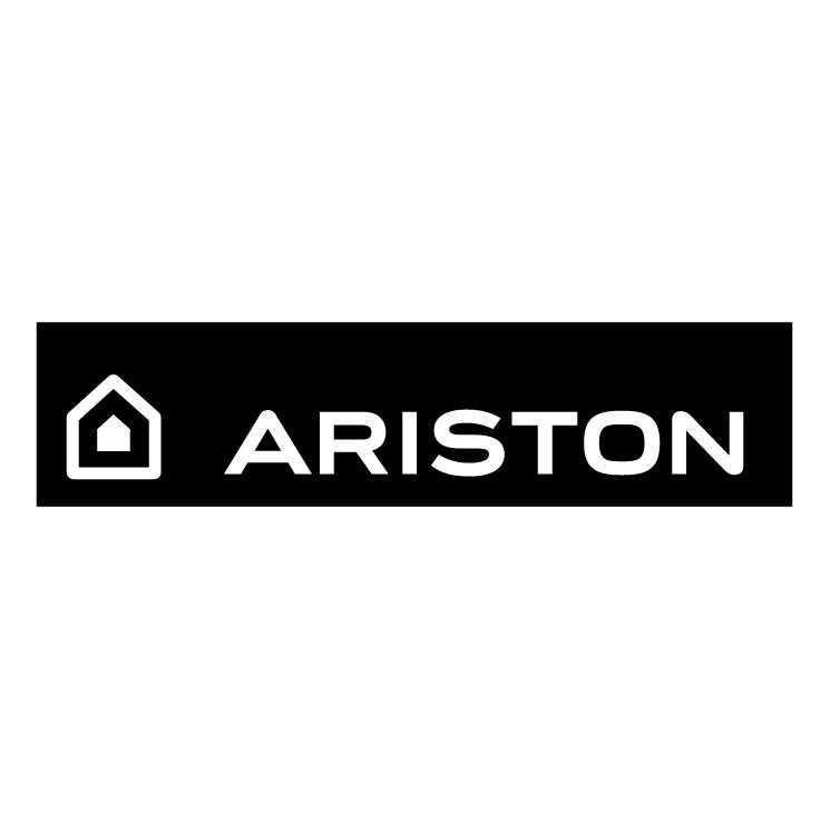 Ariston 1 free vector - Logo Ariston Black PNG