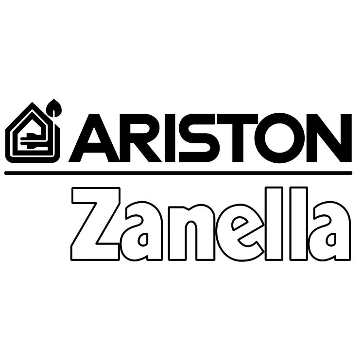 Logo Ariston Black PNG - 107565