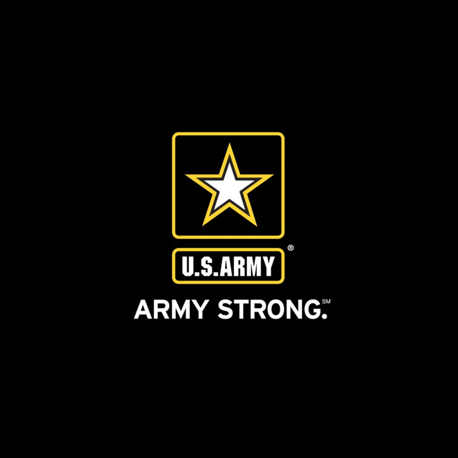 Army Strong logo wallpaper by SigmaX1277 PlusPng.com  - Logo Army Strong PNG